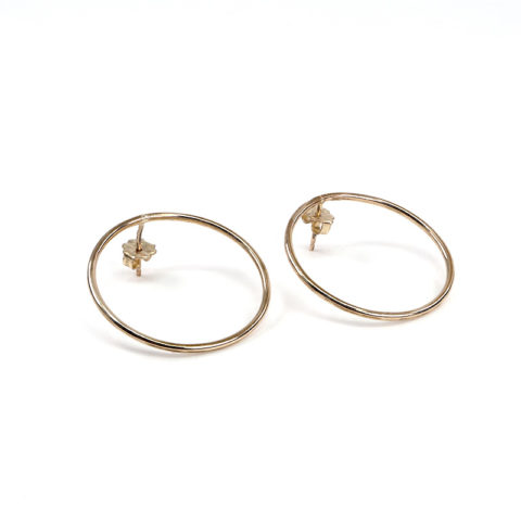 Boucles Circle gold